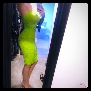 Lime green Oh Polly Dress 💋💋💋